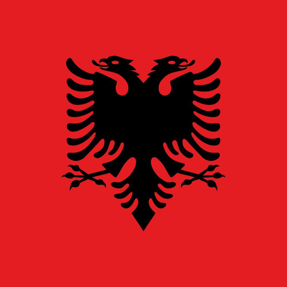 Flagge Albaniens