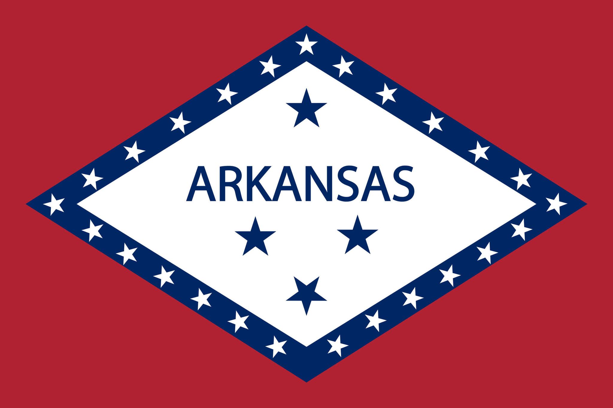 Drapeau de l'Arkansas