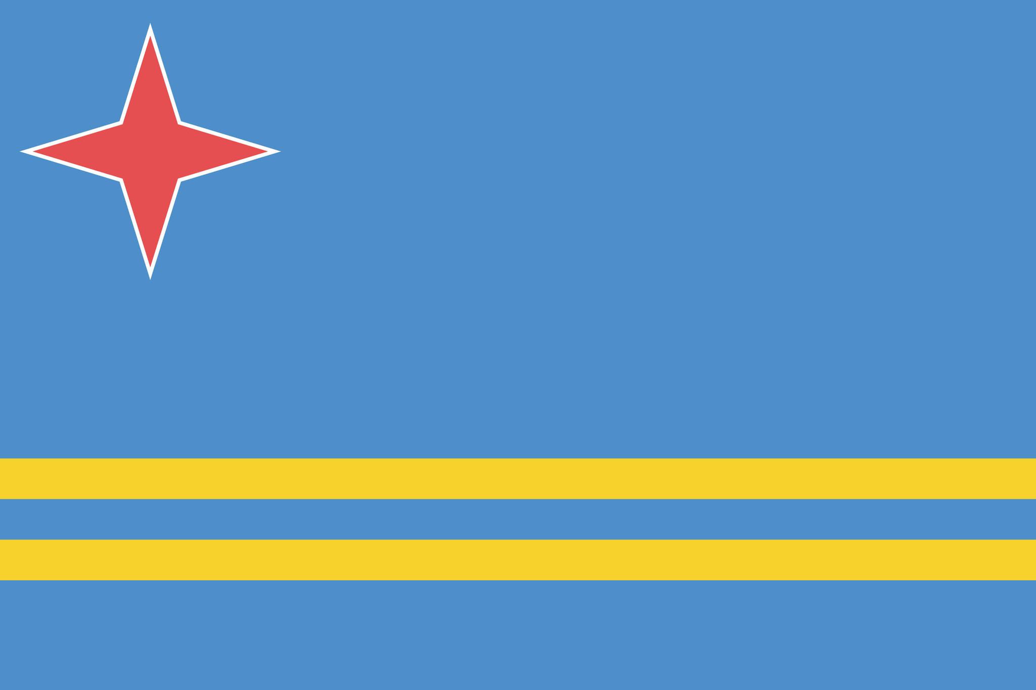 Drapeau de la Aruba