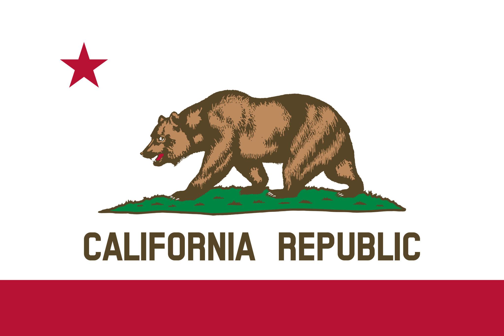 Flagge von Kalifornien