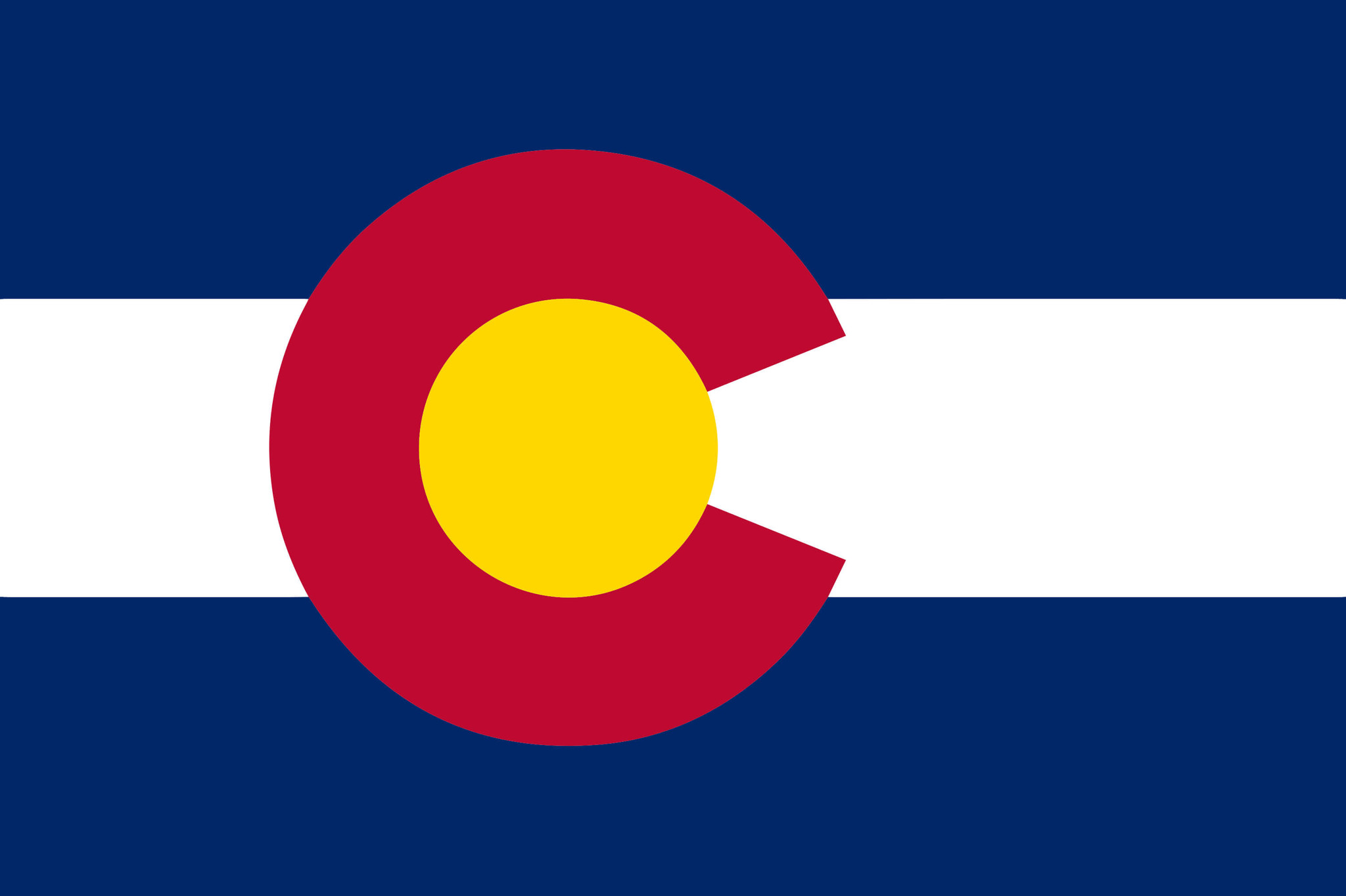 Colorado flag States package - Country flags
