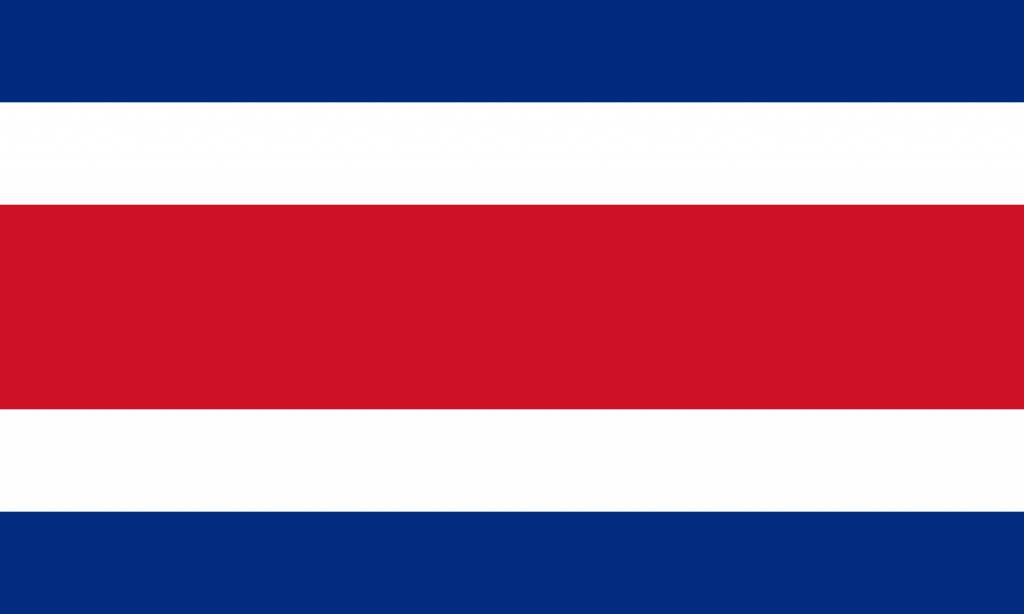 Costa Rica flag icon - Country flags