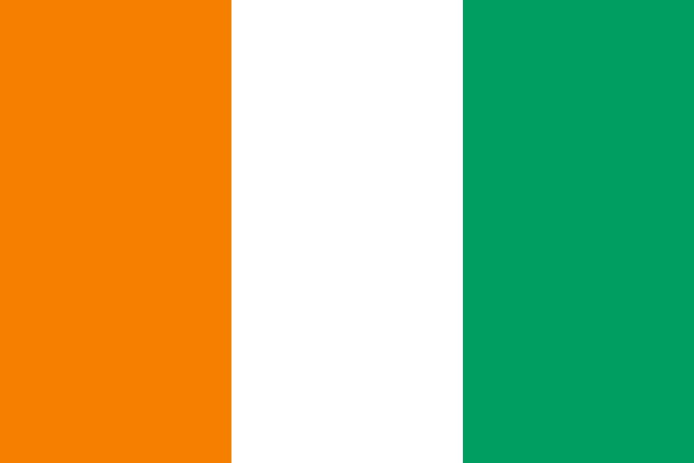 Flag of Côte d' Ivoire