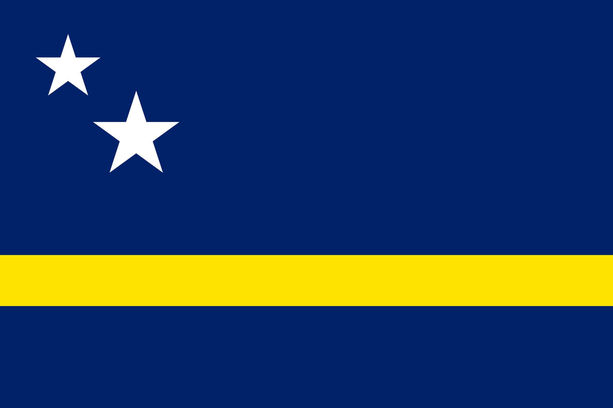 Flagge von Curaçao