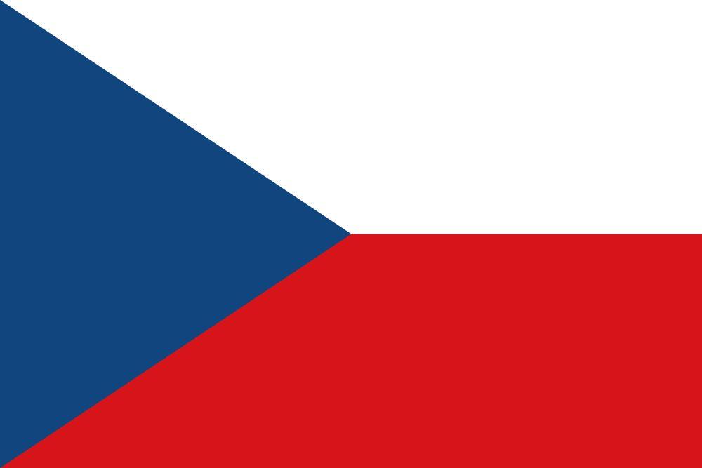 Flag of Czech Republic, the