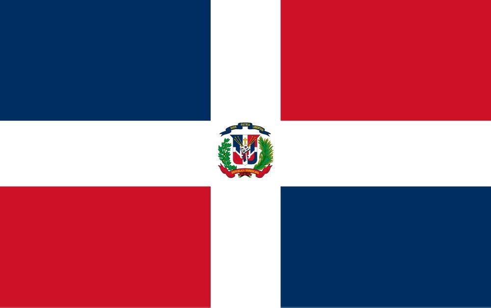 Vlag van Dominicaanse Republiek, de