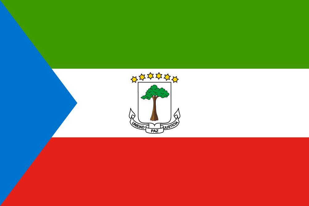 Drapeau Guinee equatoriale