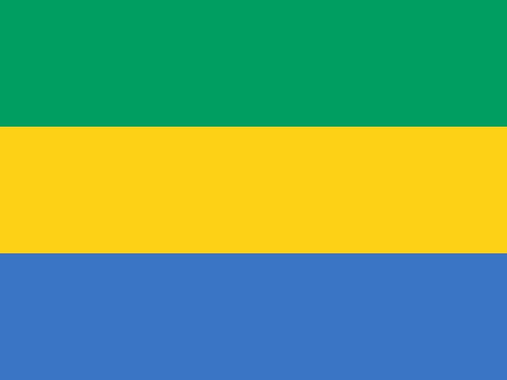 Vlag van Gabon