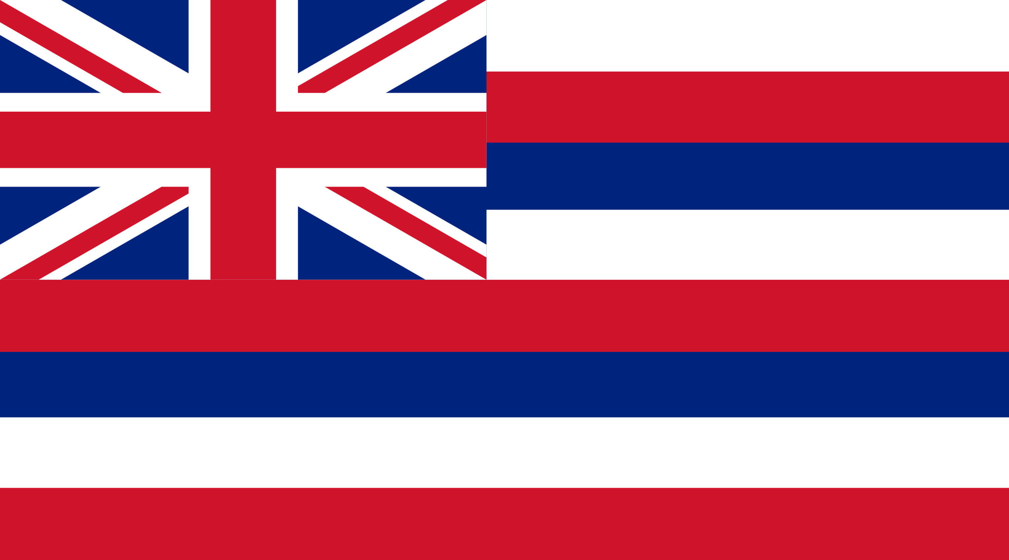 Drapeau d'Hawaii