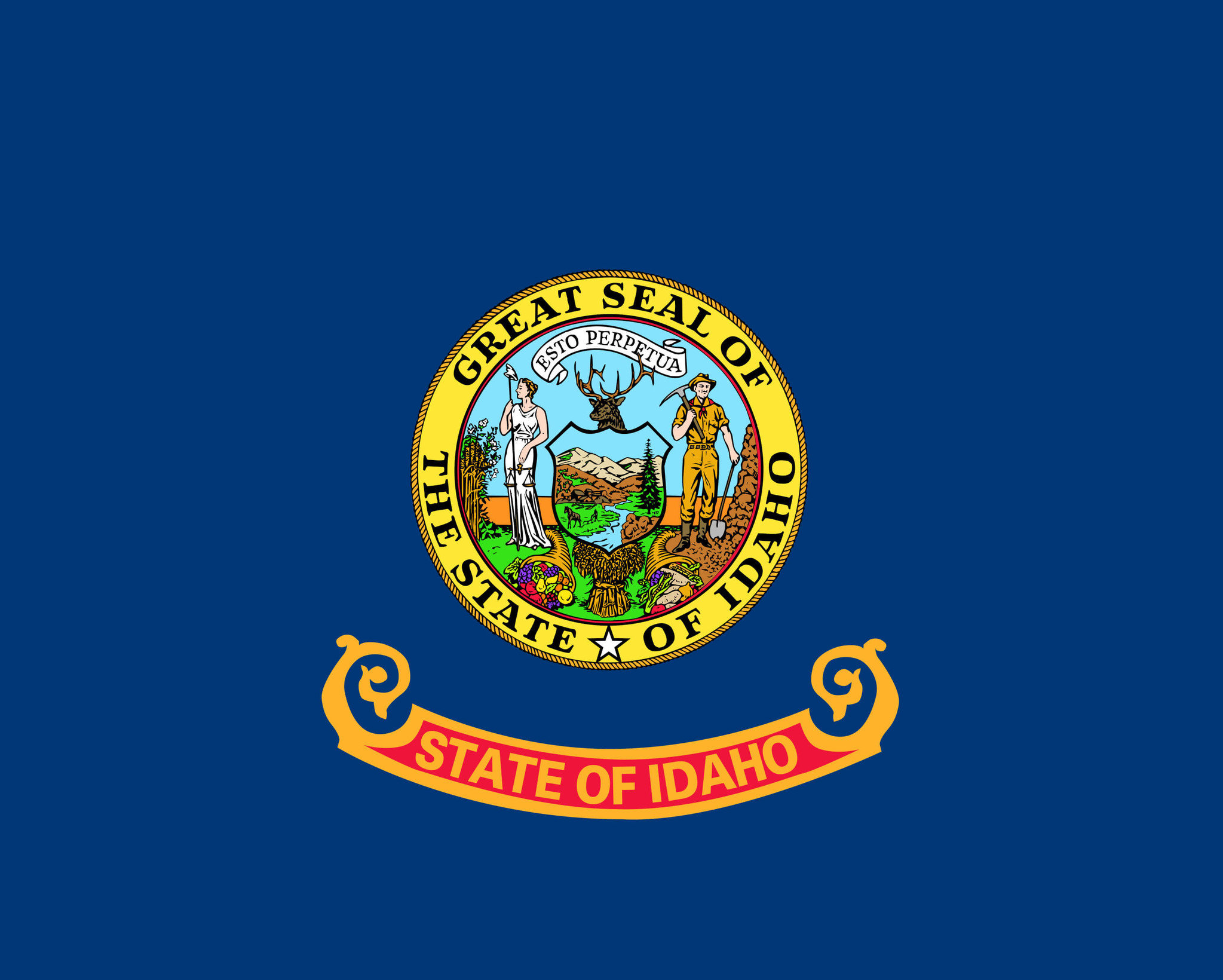 Vlag van Idaho