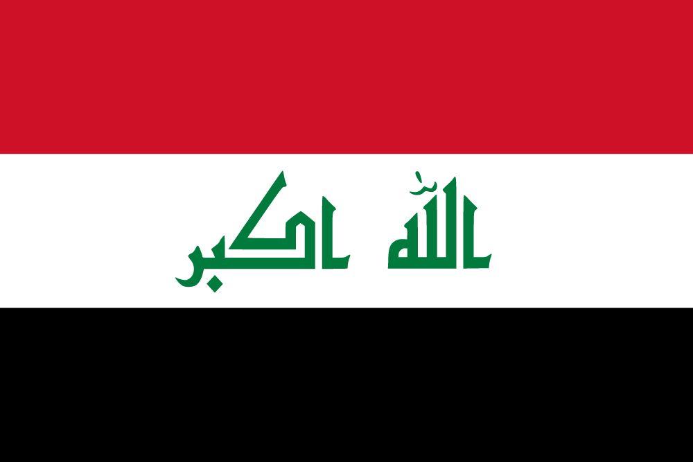 Vlag van Irak