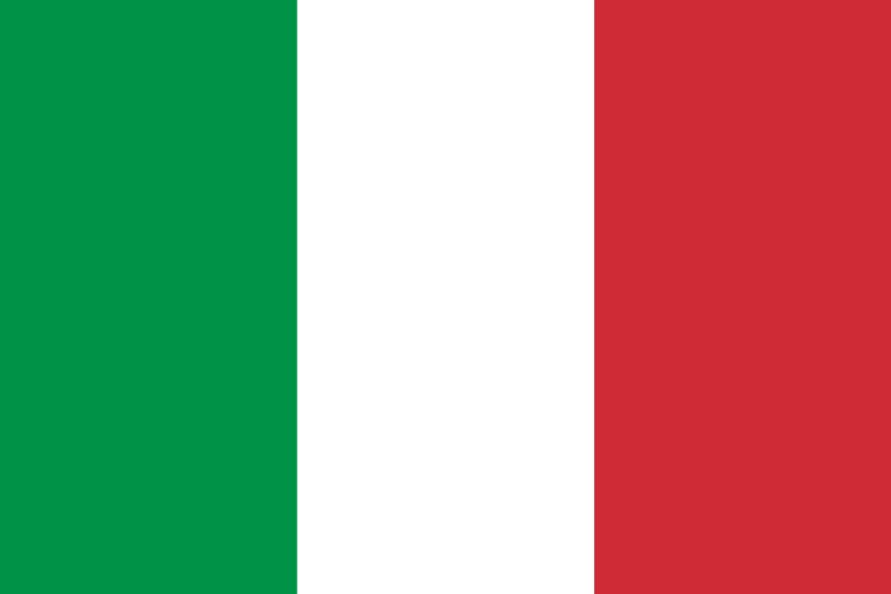 Italy flag icon - Country flags