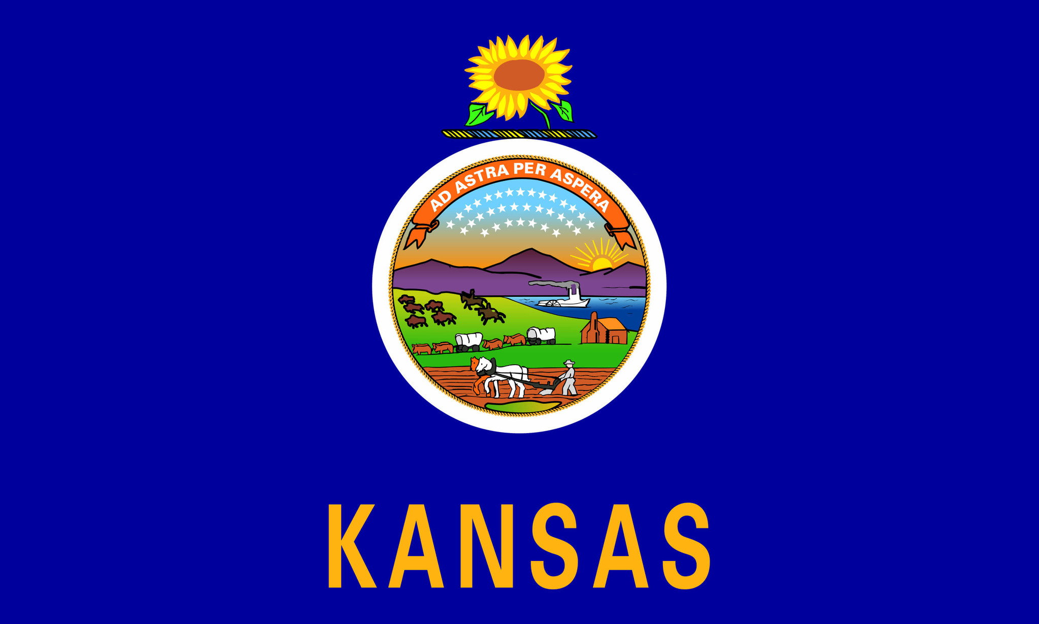 Drapeau du Kansas