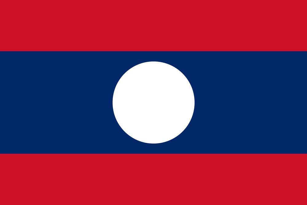 Vlag van Laos