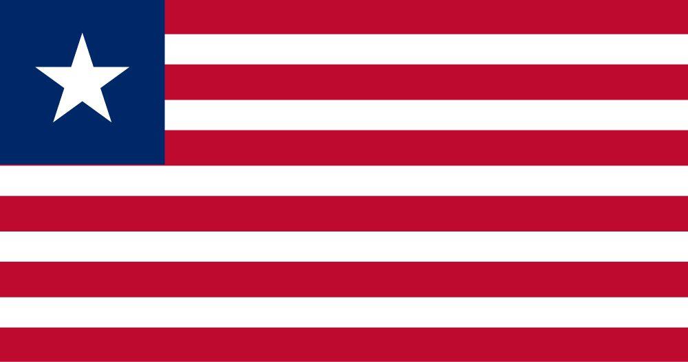 Flagge Liberia