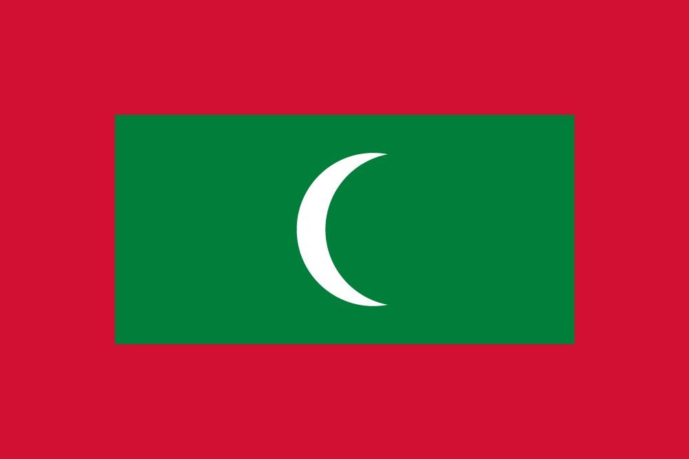 Flag of Maldives, the