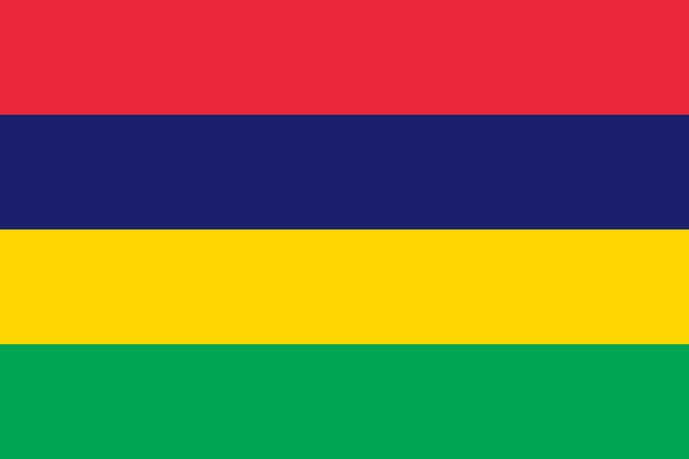 Vlag van Mauritius
