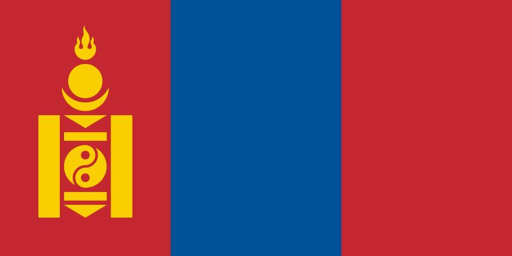 Vlag van Mongolië