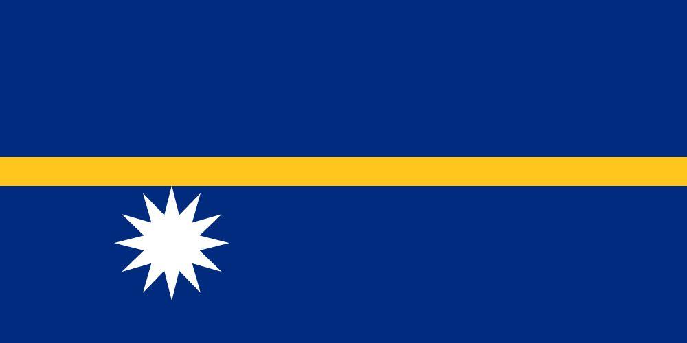 Vlag van Nauru