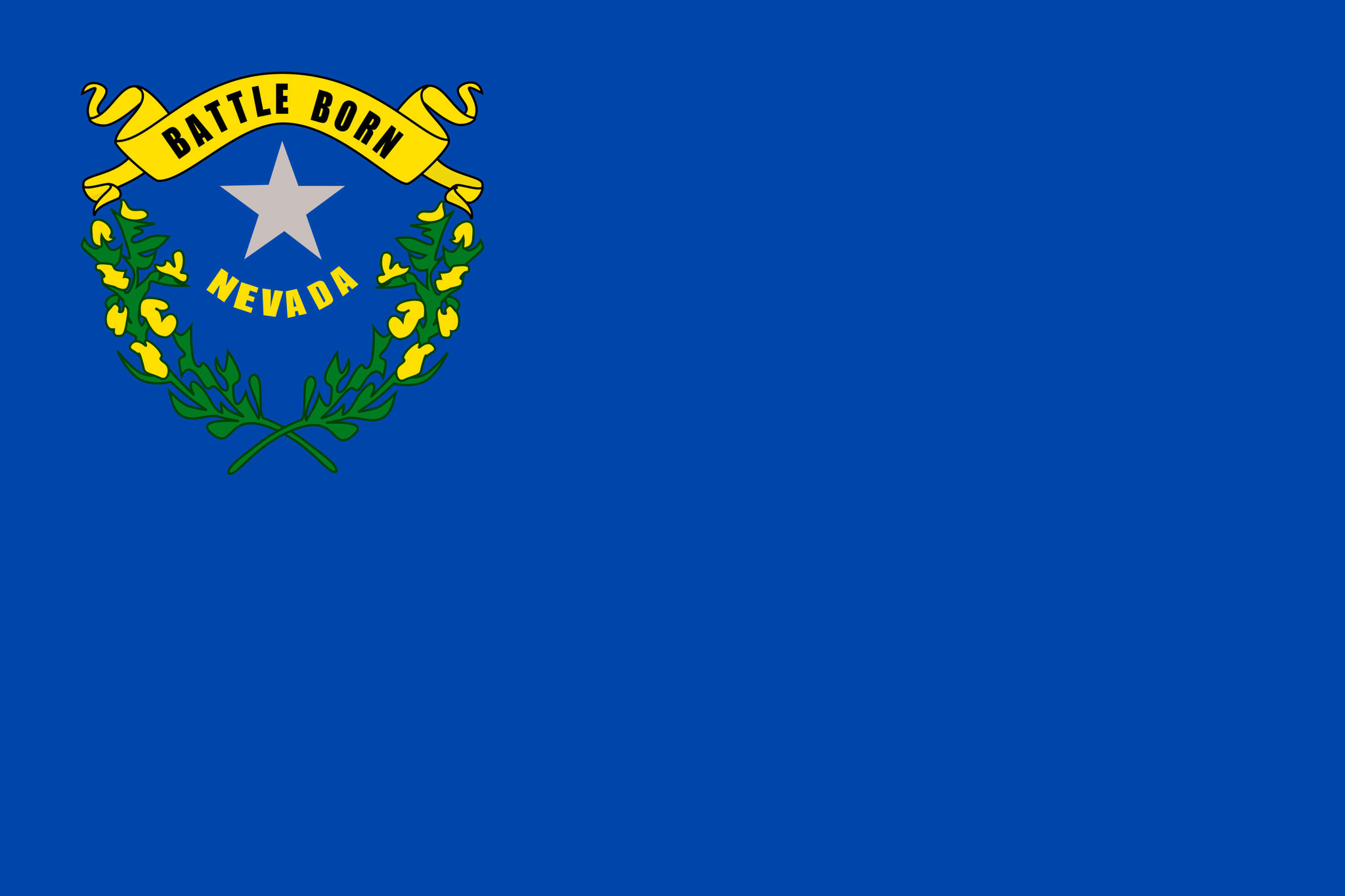 Vlag van Nevada
