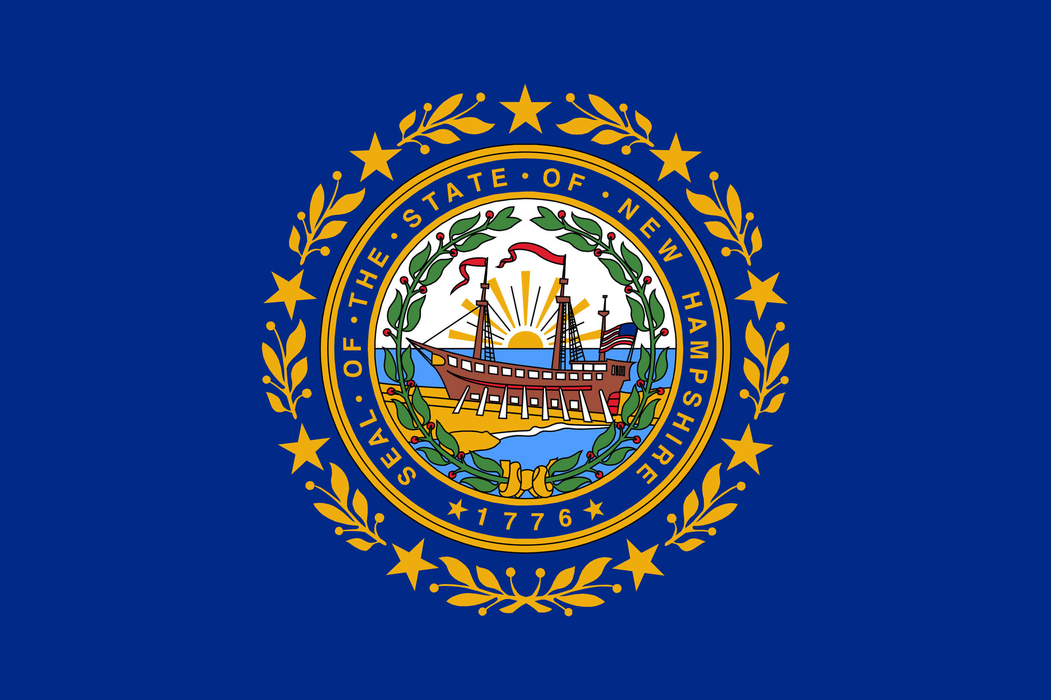 Vlag van New Hampshire