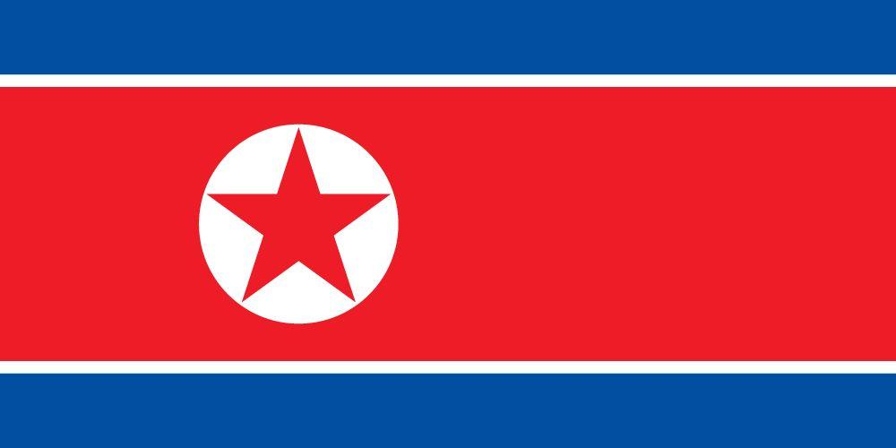 Vlag van Noord Korea