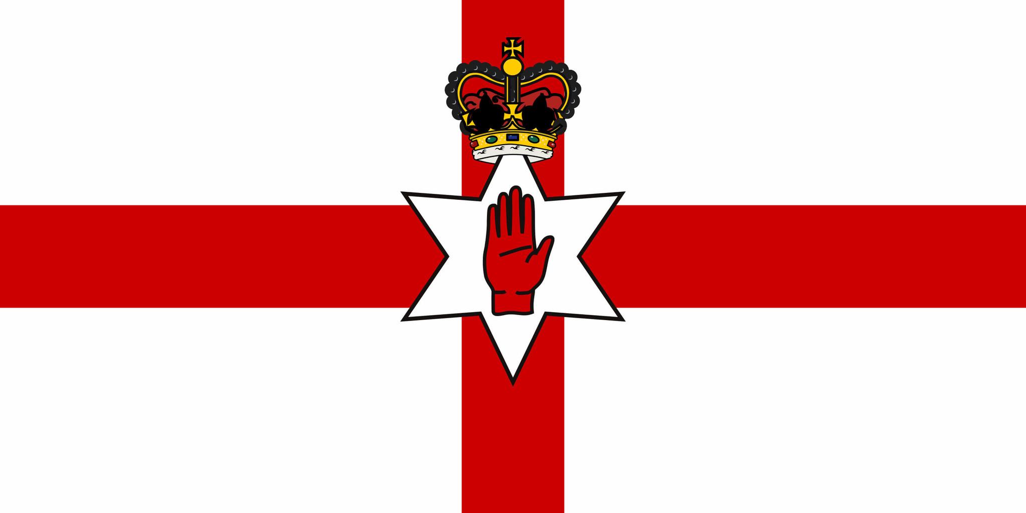 Vlag van Noord-Ierland