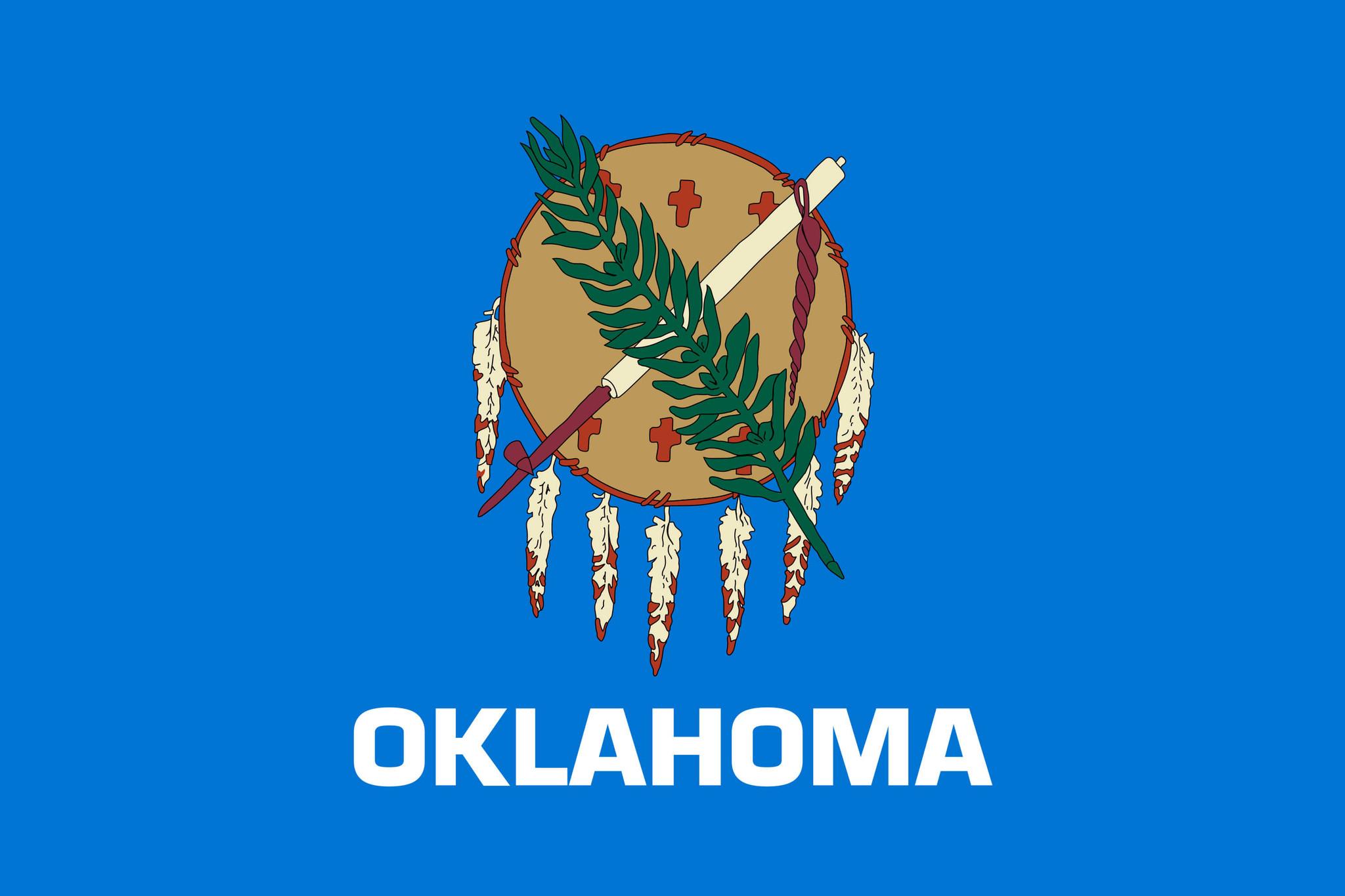 Flagge von Oklahoma