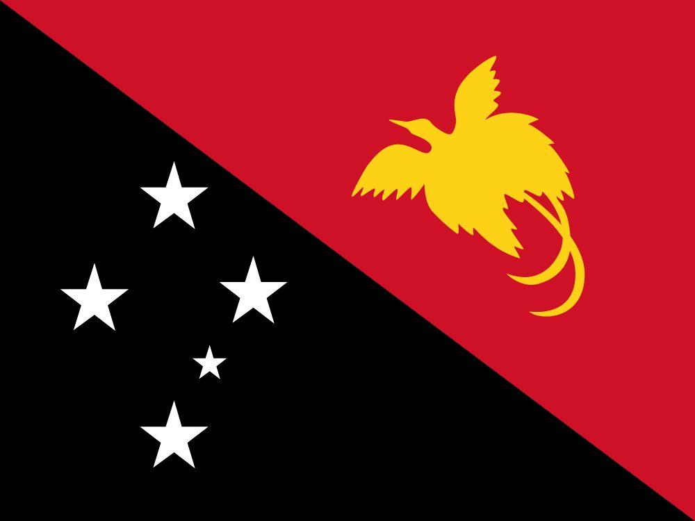 Vlag van Papoea Nieuw Guinea