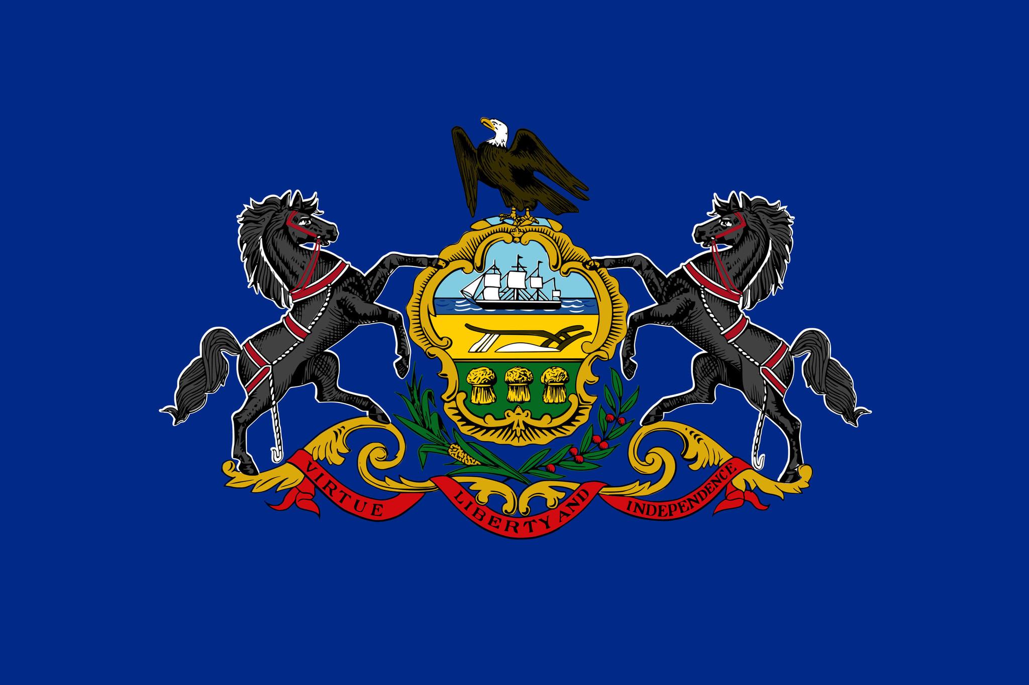 Drapeau du Pennsylvania