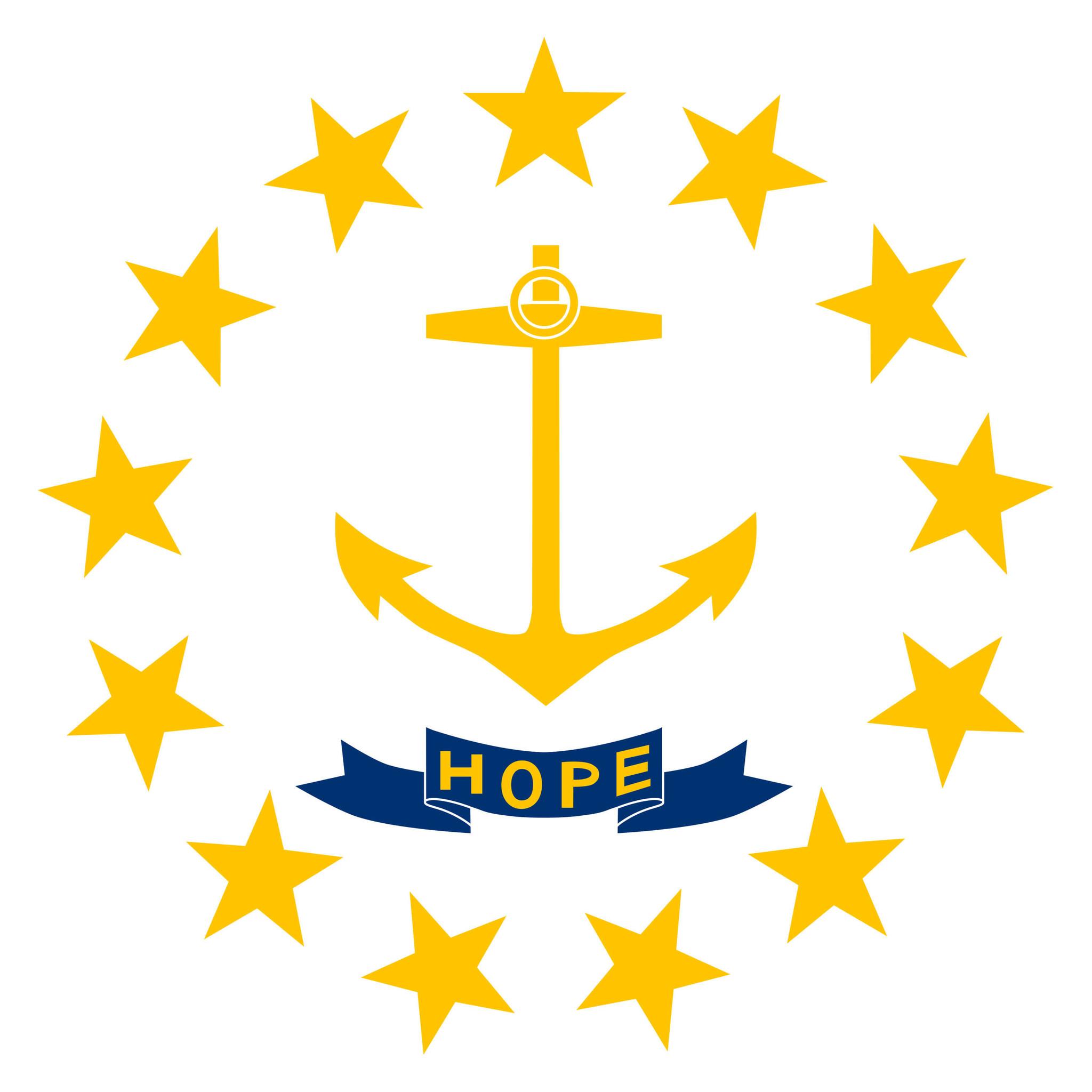 Drapeau du Rhode Island