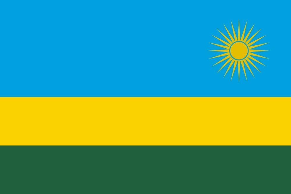 Flagge Ruanda
