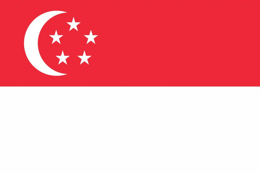 Singapore flag image - Country flags