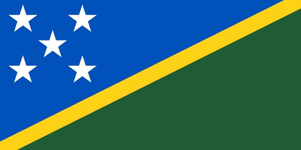 Flag of Solomon Islands, the