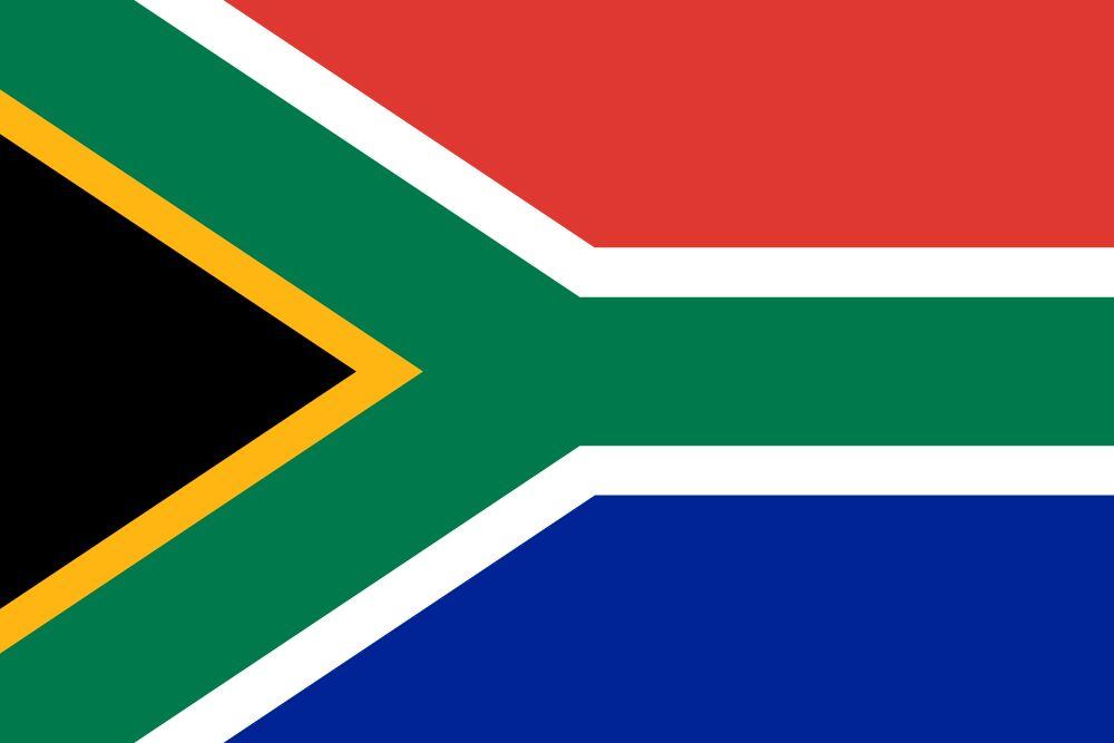 Flagge Sudafrika
