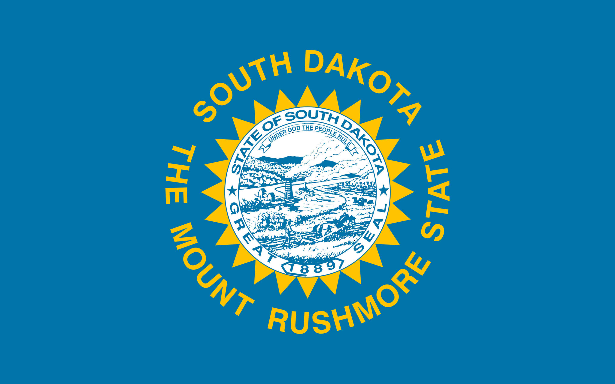 Drapeau du South Dakota