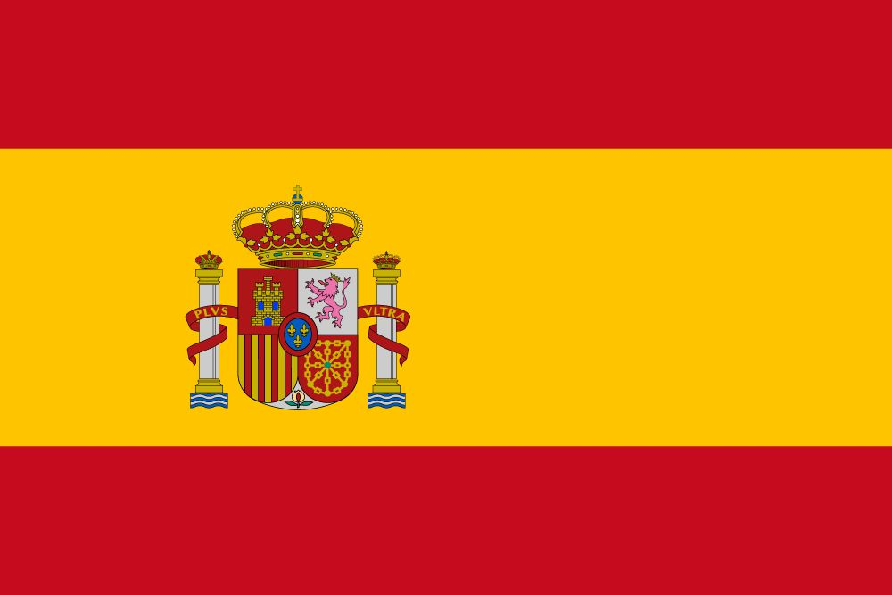 Flag Of Spain Image And Meaning Spanish Flag Country Flags