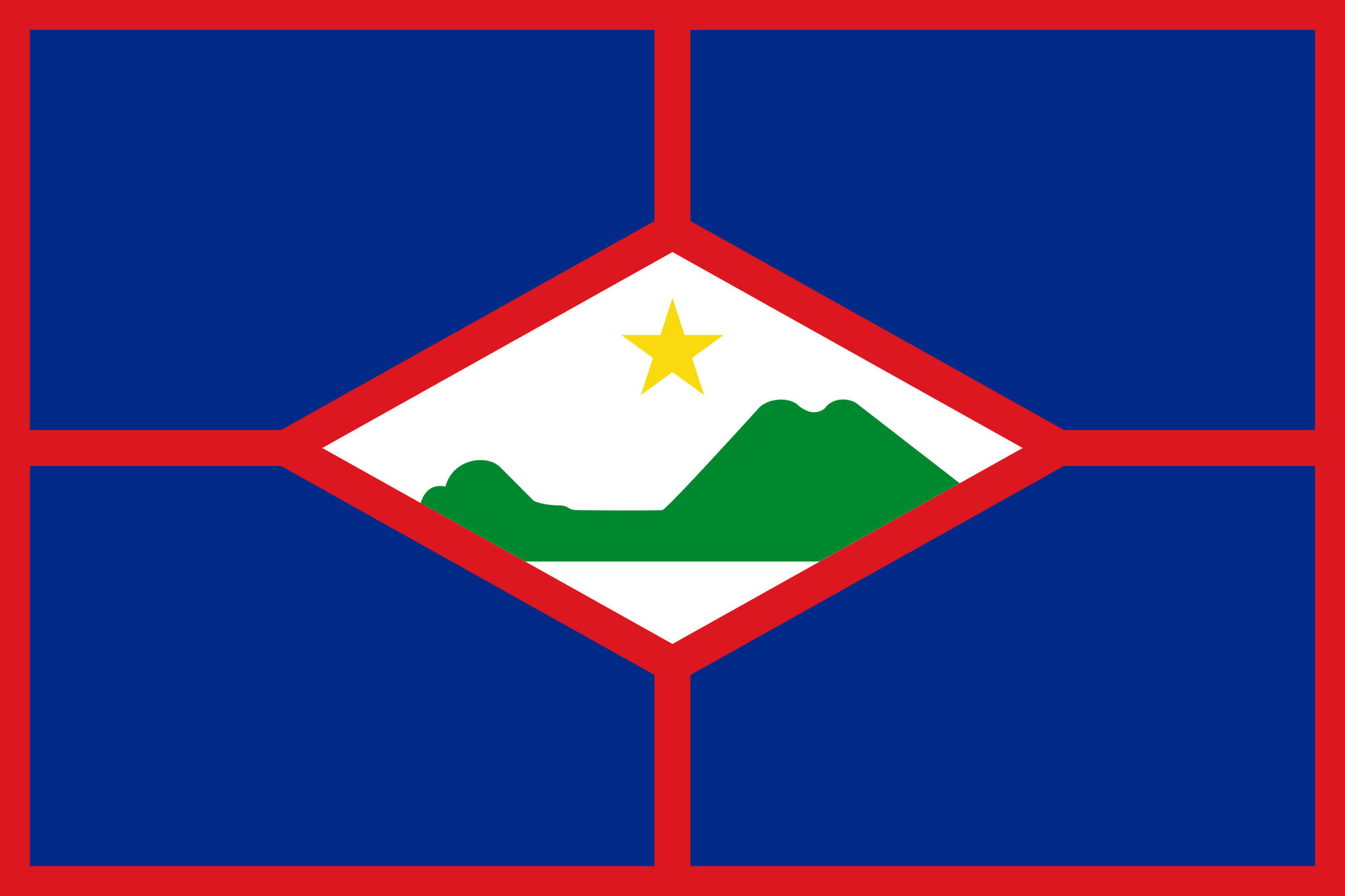 Flag of St. Eustatius