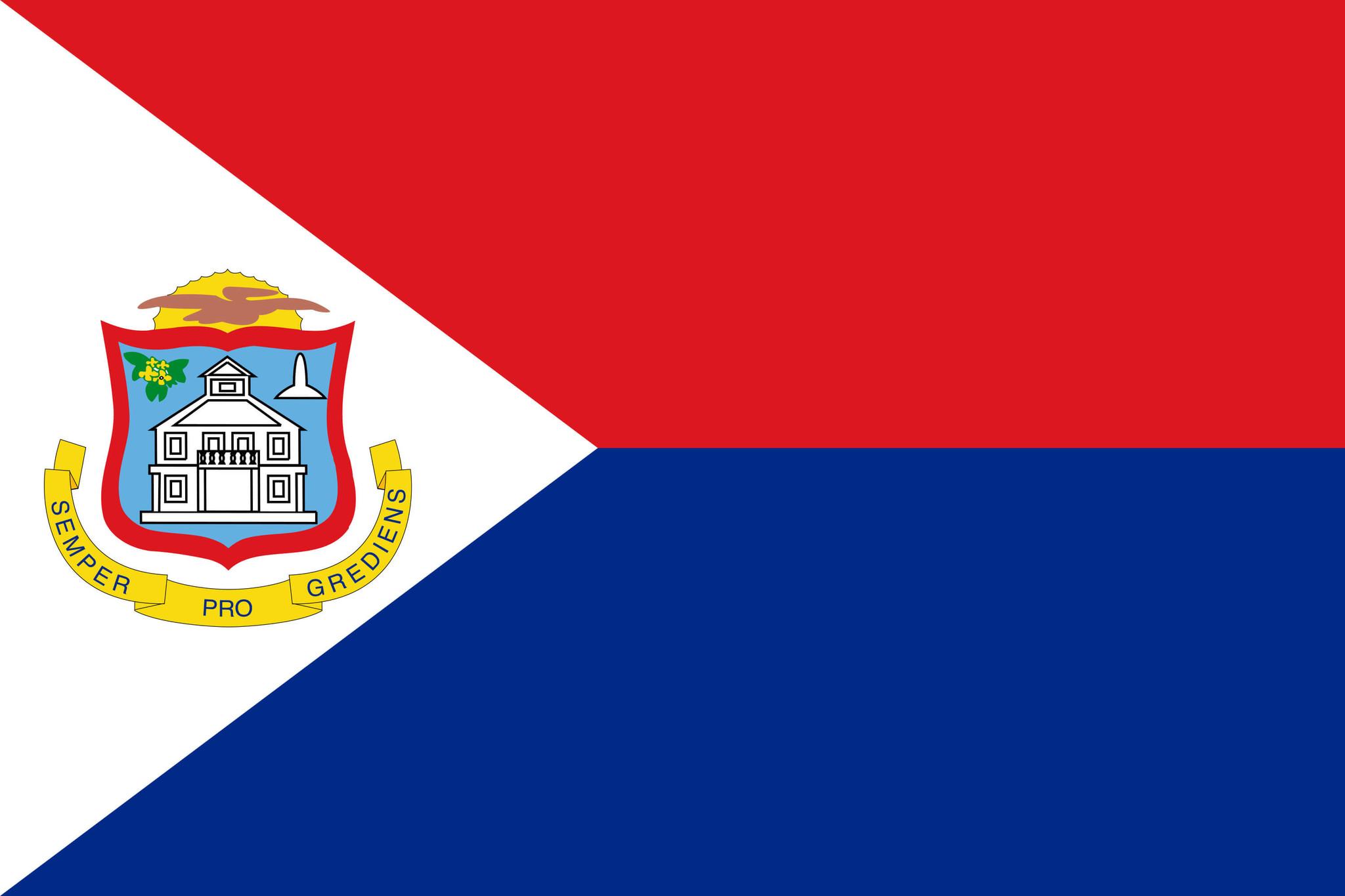 Flagge von Sankt Martin