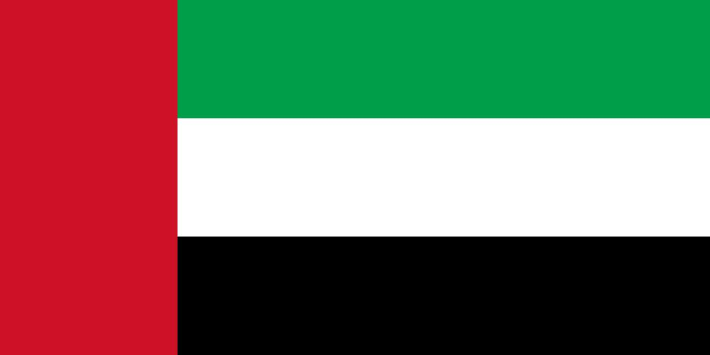 Flag of United Arab Emirates, the