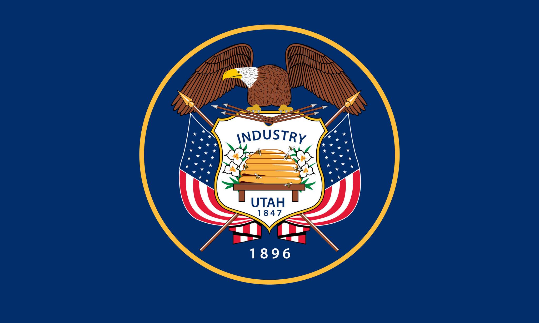 Vlag van Utah