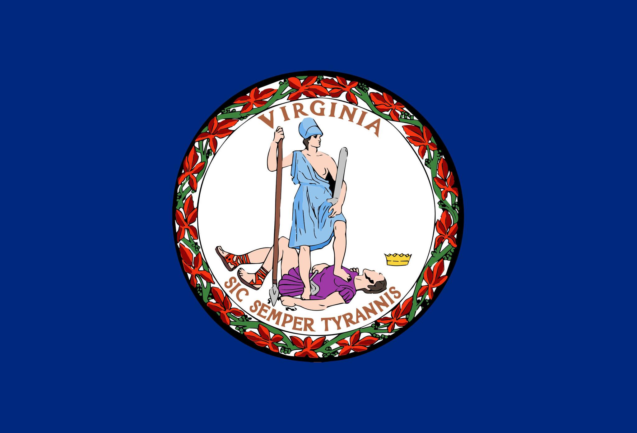 Vlag van Virginia