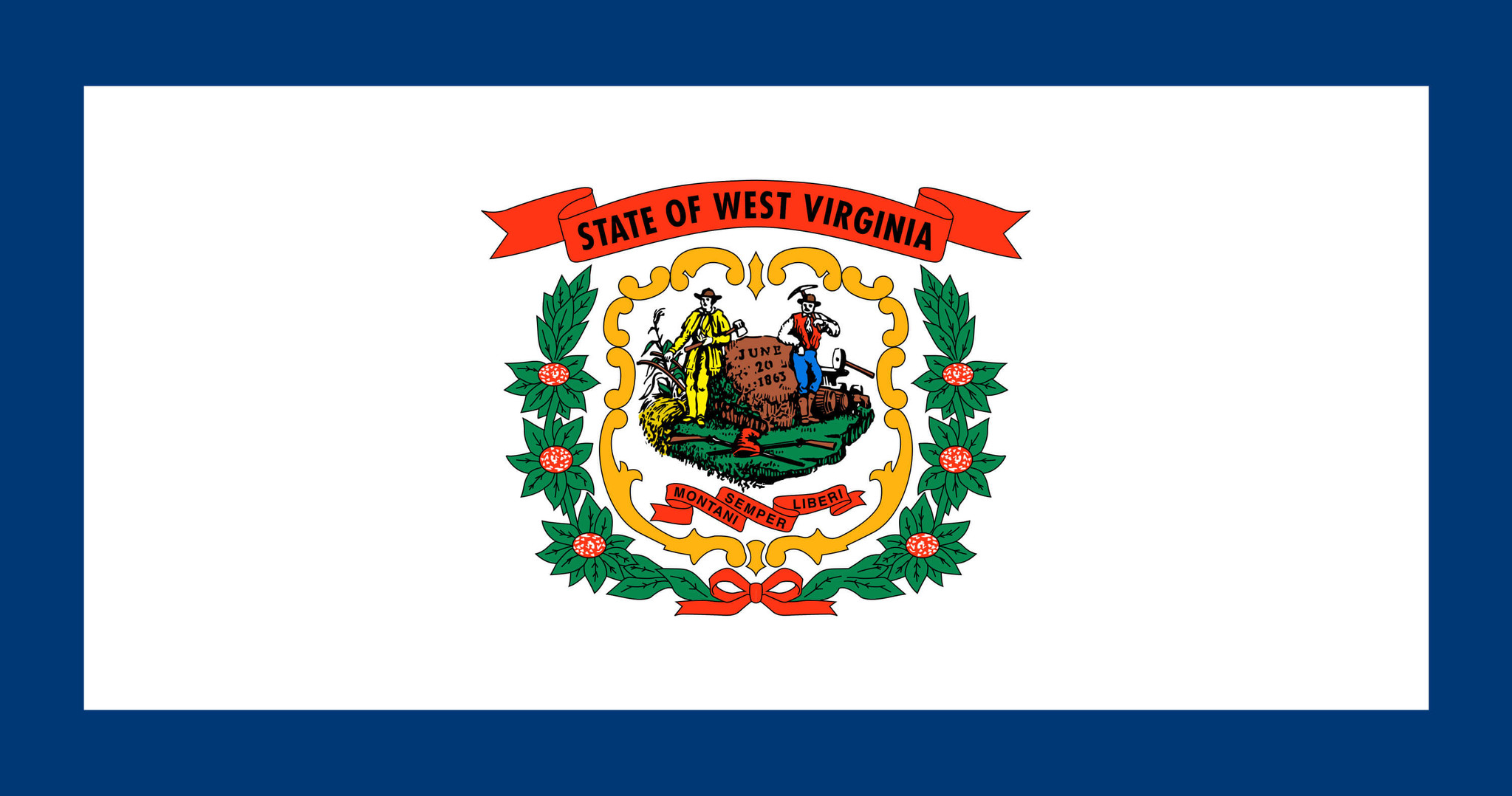 Vlag van West Virginia
